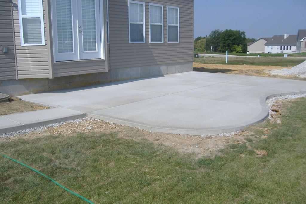 Concrete Contractor Winnipeg Cement Stone Age. How To Install A Cobblestone  Patio ... - How To Build Concrete Patio Slab - Patio Ideas